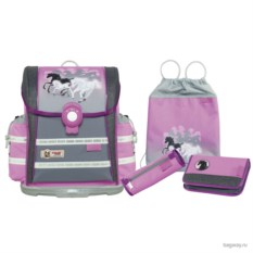 Розовый школьный ранец McNeill Ergo Light