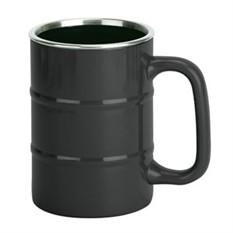Черная кружка «Баррель»