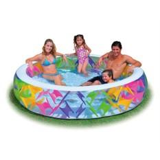 Надувной бассейн Крестики