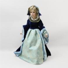 Фарфоровая кукла Принцесса Гертруда