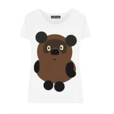 Женская футболка «Винни-пух»