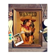 Портрет по фото Wanted