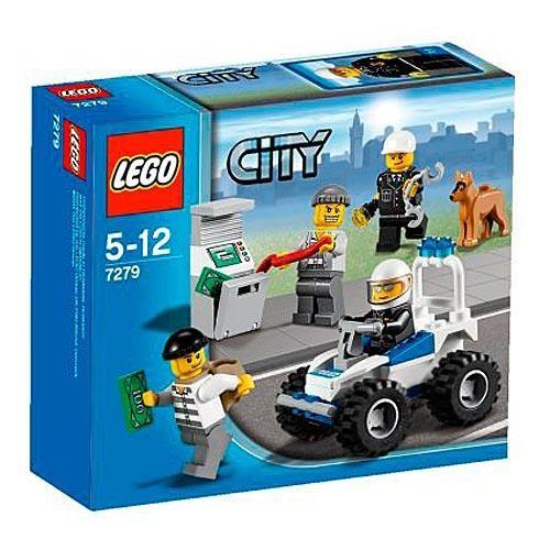 Конструктор Lego City Коллекция полицейских минифигурок