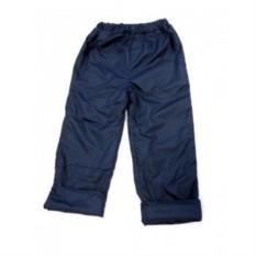 Синие утепленные штаны на весну и осень