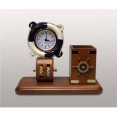 Офисный набор с часами Морской стиль