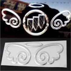 3D наклейка на эмблему авто Ангел
