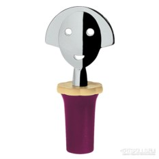 Фиолетовая пробка для бутылки Anna stop