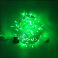 Светодиодная гирлянда 10 м с зелеными диодами