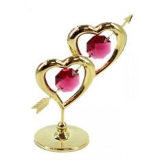 Декоративная композиция Два сердца