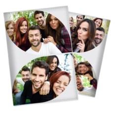 Обложка на паспорт с вашим фото «Коллаж»
