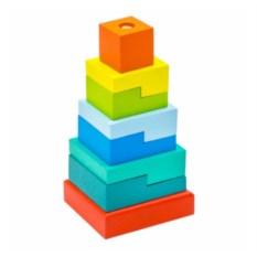 Пирамидка Ступеньки (8 деталей)