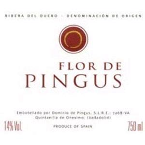 Вино La Flor Pingus. Dominio De Pingus