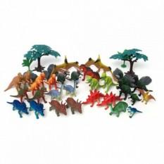 Игровой набор 40 предметов Динозавры Boley