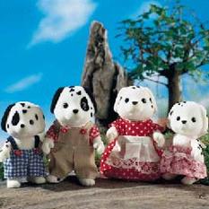 Детский игровой набор Sylvanian Families Семья Далматинов