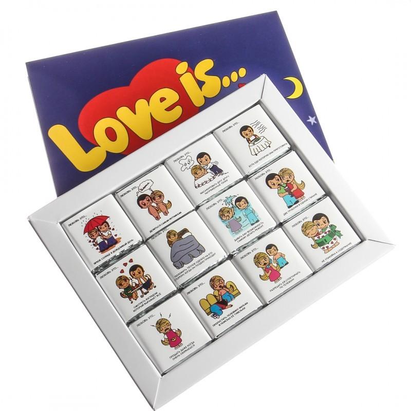 Шоколадный набор Love is…