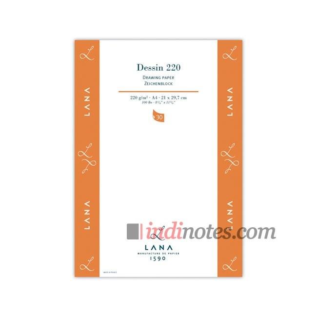 Альбом формата А4 LANA Dessin 220