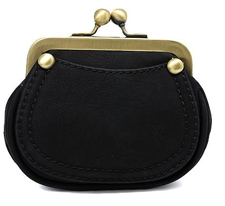 Чёрный кошелёк Janie