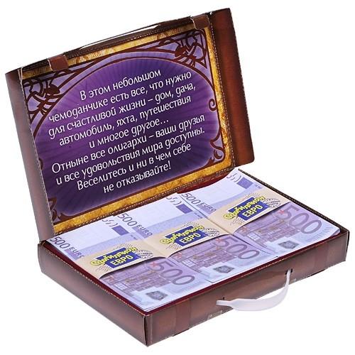 Сувенир «Чемодан денег»