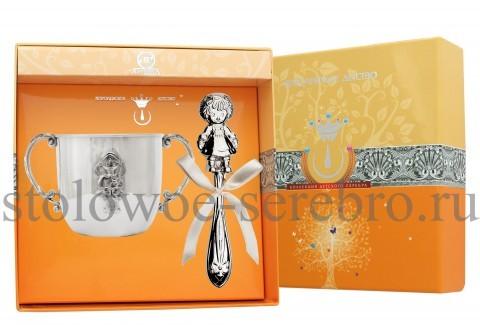 Детский серебряный набор Кукла №101