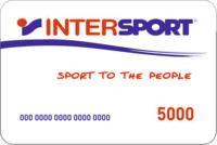 Подарочный сертификат спортивных магазинов «Интерспорт»