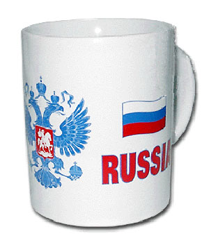 Чайная кружка «Россия»