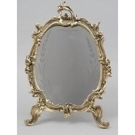 Зеркало настольное из бронзы Virtus