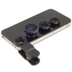 Набор объективов для телефона 3 в 1