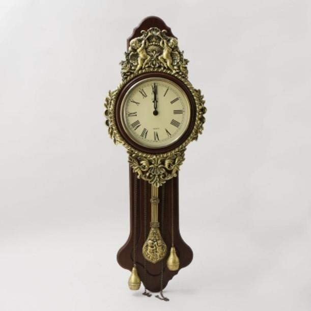 Настенные часы Эдем с маятником и гирями