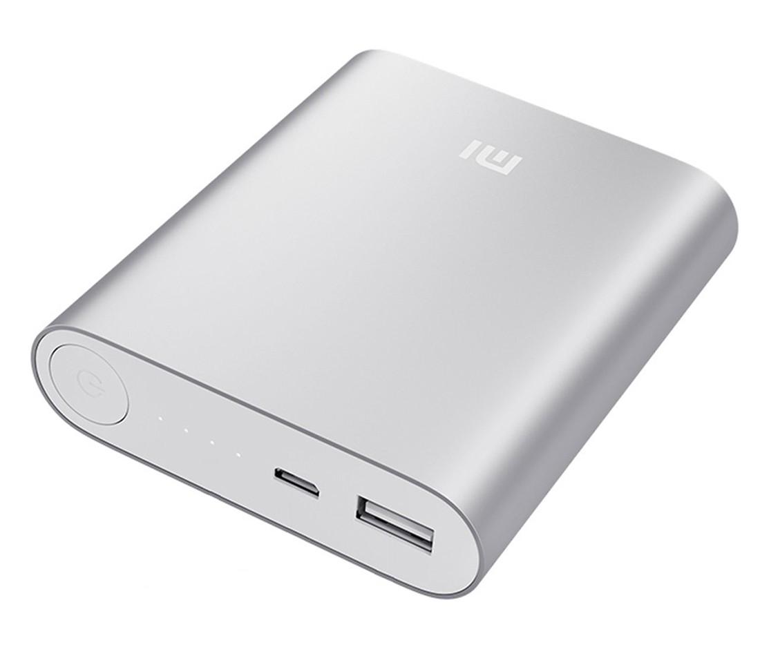 Внешний аккумулятор Xiaomi Mi Power Bank 10400mAh (Silver)