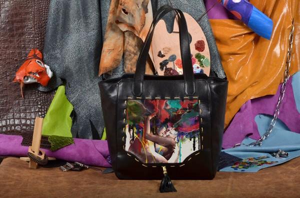Сумка-шопер Разноцветная любовь Elole Design