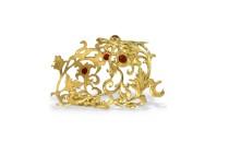 Салфетница-кольцо Золотая осень, серебро