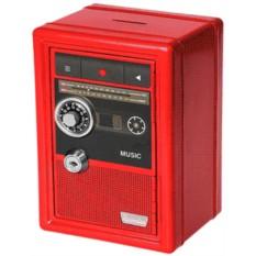 Копилка-сейф с ключом «Радио-ретро»