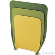 Набор из 3 разделочных досок Nest (цвет: зеленый)