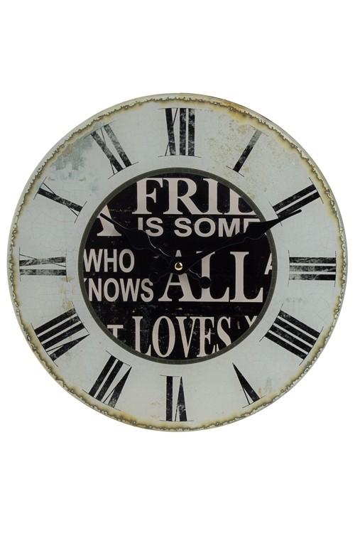 Настенные часы Римские цифры