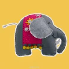 Набор для шитья из фетра Слон
