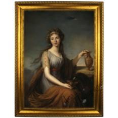 Портрет по фото Богиня юности