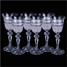 Набор бокалов для ликёра Linea Argenti