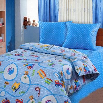 Детское постельное бельё «Дорожное движение»