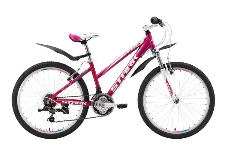 Подростковый велосипед Stark Slider Girl (2016) Pink