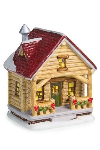 Светящееся украшение для интерьера Деревянный дом