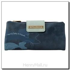 Портмоне-конверт Henry Cats Logo I