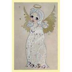 Картина с кристаллами Swarovski Ангелочек на плече