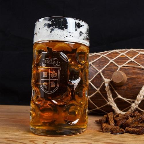Немецкая литровая пивная кружка Масс
