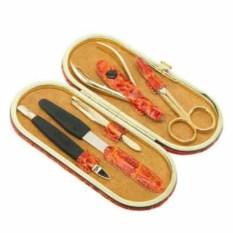Оранжевый маникюрный набор GD из 5 предметов