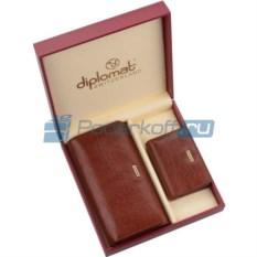 Женский набор Diplomat: портмоне, визитница