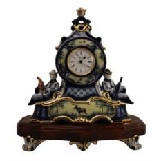 Настольные часы Охотники