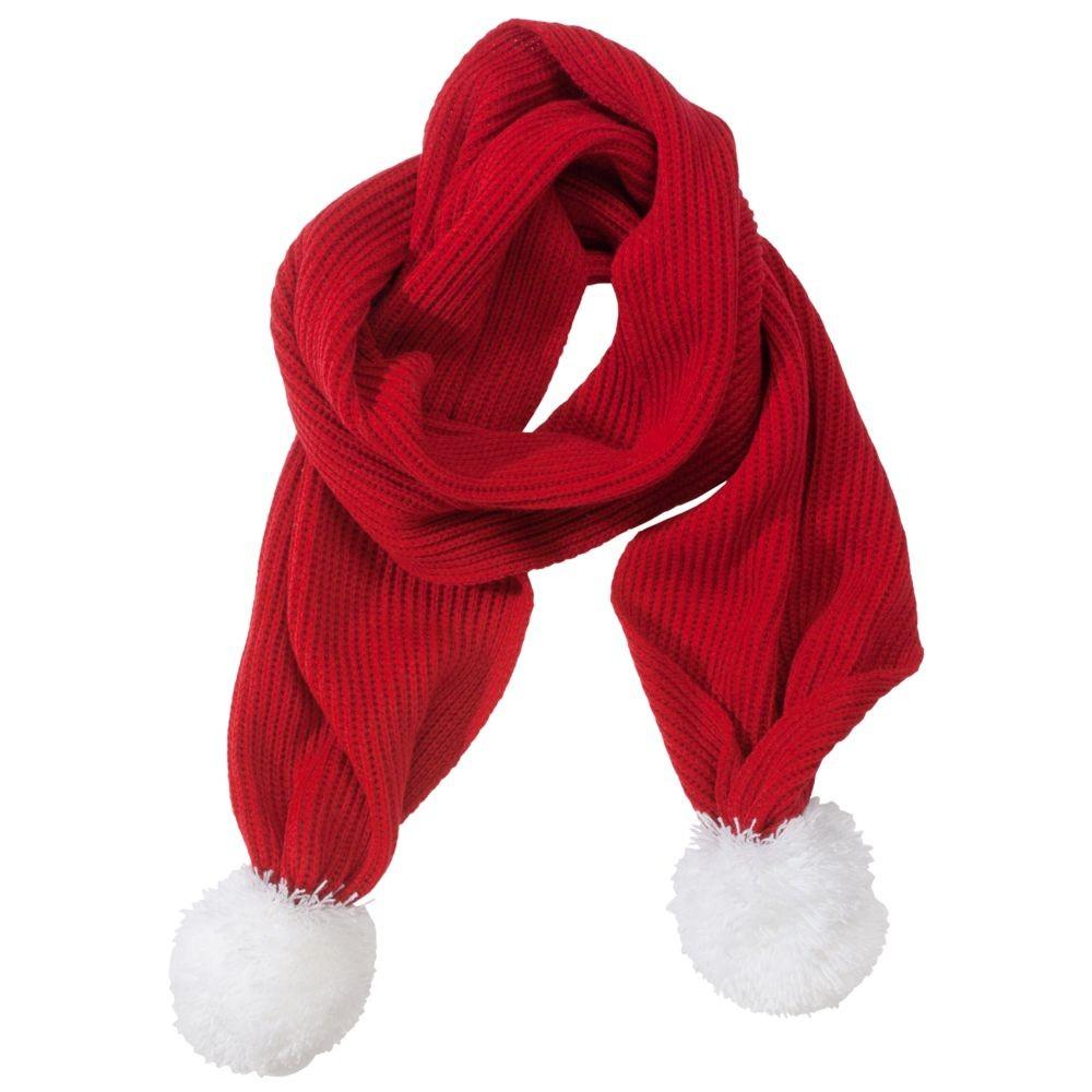 Красный шарф Happy