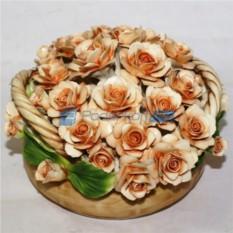 Цветы из фарфора Чайные розы