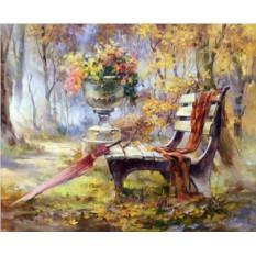 Картины по номерам «Время листопада Риммы Вьюговой