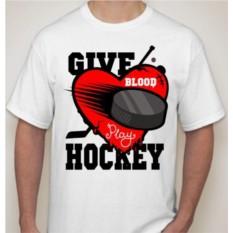 Мужская футболка Give hockey